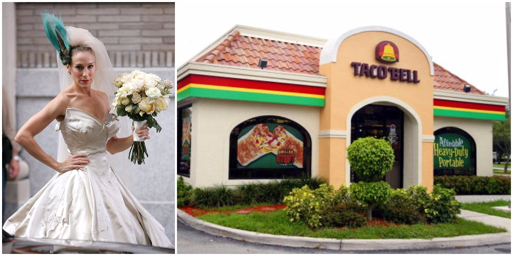 You Can Now Get Married At Taco Bell For 600 Taco Bell