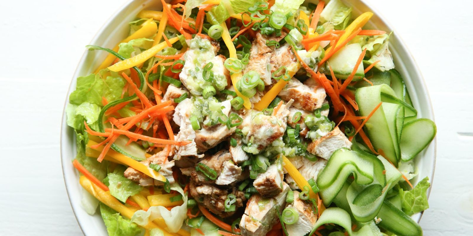 asian chicken salad reciepe
