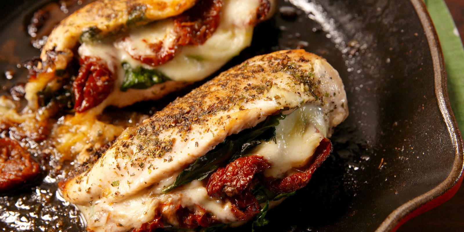Best Caprese Stuffed Chicken Recipe - How to Make Caprese ...