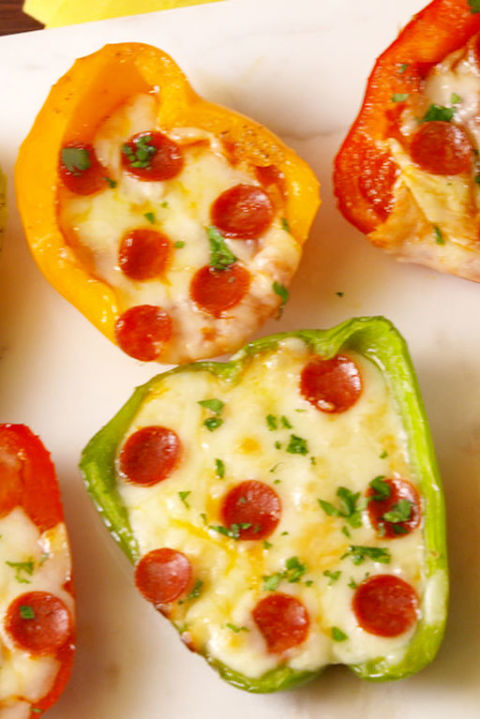 13 cooking with kids easy recipes kids can make on their own mini pepper pizzas forumfinder