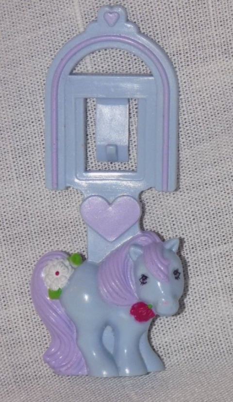 This delicate pony bookmark was the start of McDonald's gender-specific toys. It was also the start of thousands of children throwing tantrums in the backseat of a minivan after receiving a — ewwwwwwww! — boy's toy in their box.