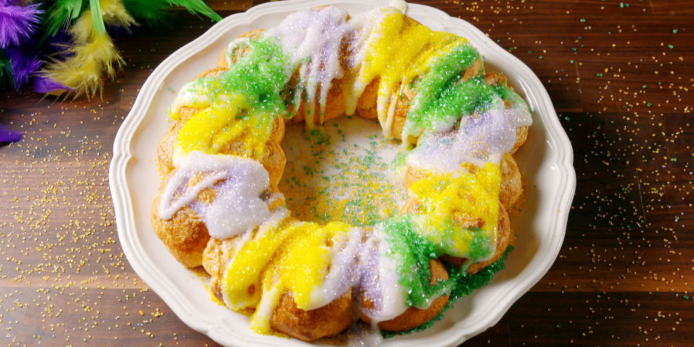 18 mardi gras food recipes best menu for mardi gras party king cake ring forumfinder Gallery