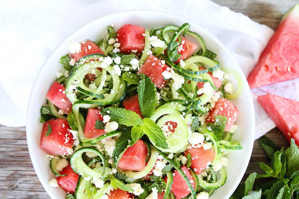 11 best watermelon salad recipes easy summer watermelon salad ideas. Black Bedroom Furniture Sets. Home Design Ideas