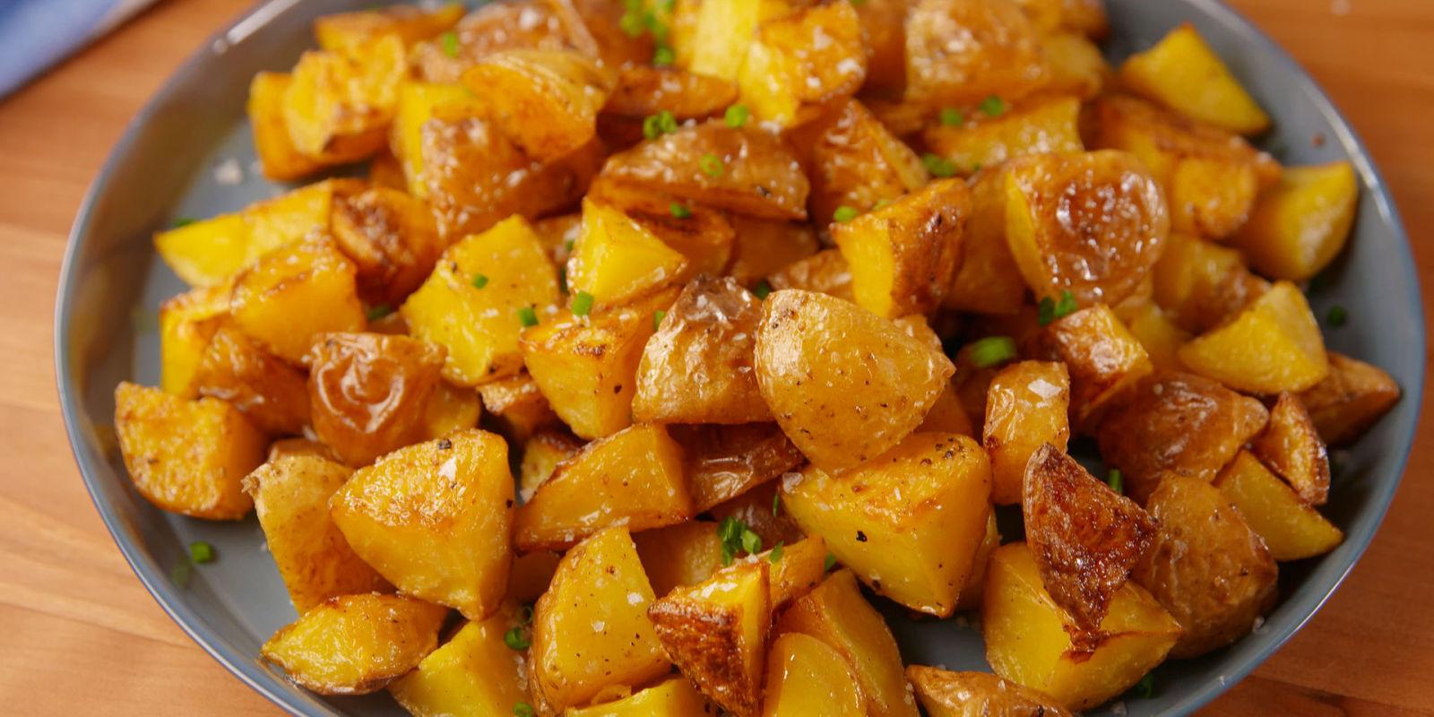 Best Salt Amp Vinegar Crispy Potatoes How To Make Salt