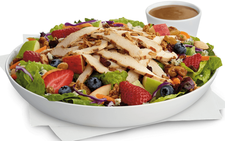 Best Salads Fast Food Low Calorie