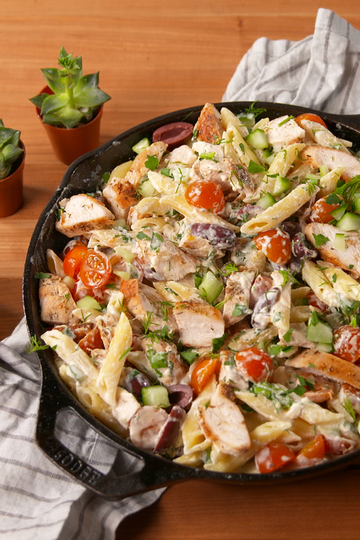 30 Easy Chicken Pasta Recipes Light Pasta Dishes With