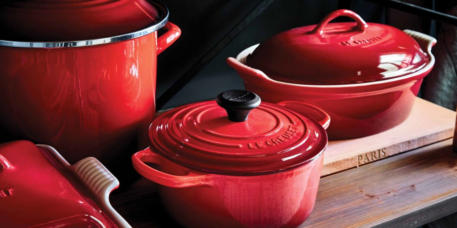 how to save major money on le creuset kitchenware. Black Bedroom Furniture Sets. Home Design Ideas