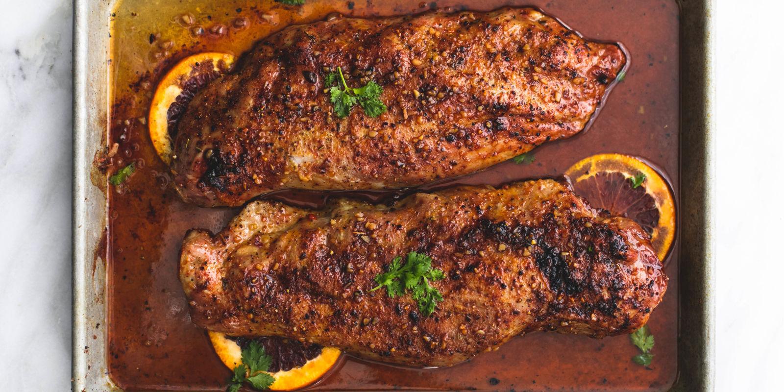 Best Glazed Pork Tenderloin Recipe How To Cook Pork Tenderloin In Oven Delish Com