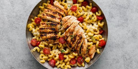 Caprese Chicken Pasta Horizontal