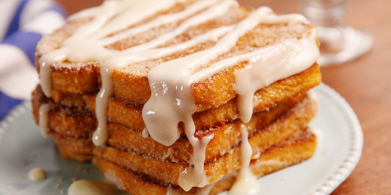 Easy French Toast Recipe - Made with milk, eggs, vanilla, and a pinch of cinnamon, making French toast is very easy to pull together for a wonderful breakfast.