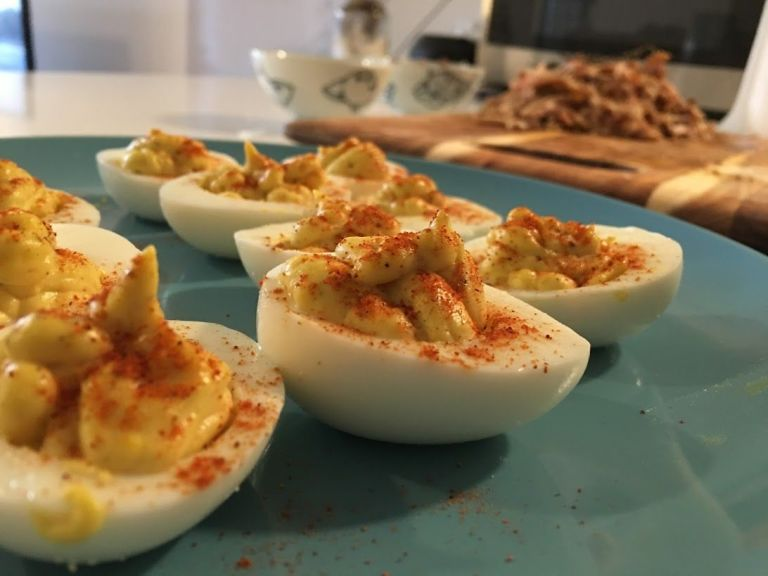 Ramy Zabarah Deviled Eggs