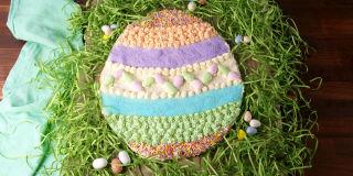 Giant Easter Egg Cookie Horizontal 1