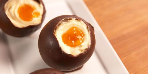 Cheesecake Eggs Horizontal