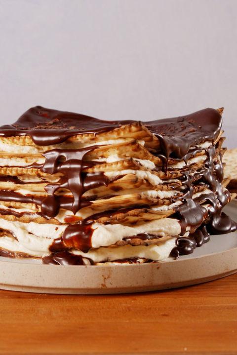Matzoh Icebox Cake