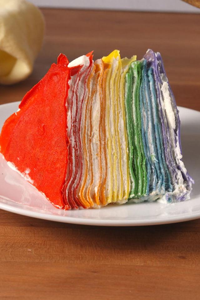 Recetas inspiradas en el arco iris