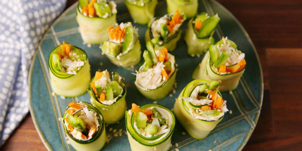 90 best zucchini recipes how to cook zucchinidelish zucchini sushi forumfinder Choice Image