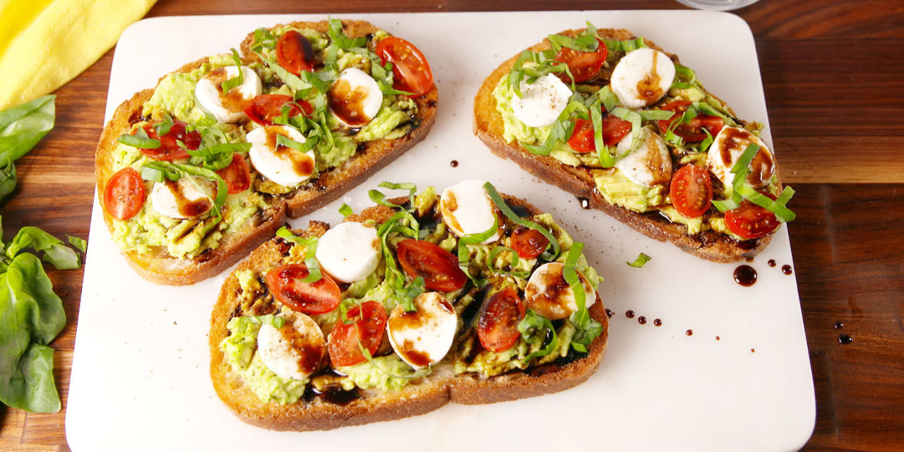 Avocado Recipes Toast Dinners
