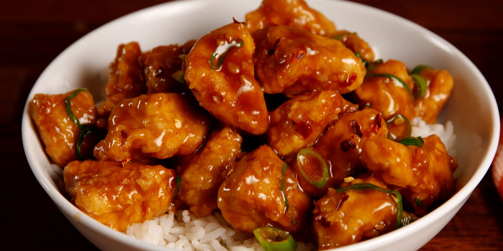 Best Sticky Orange Chicken Recipe - How to Make Sticky ...