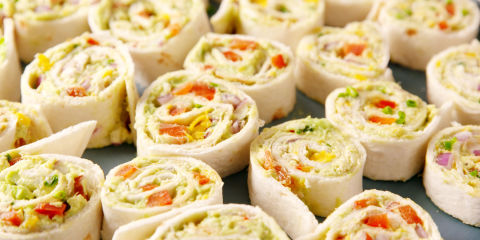 Chicken Avocado Roll-Ups