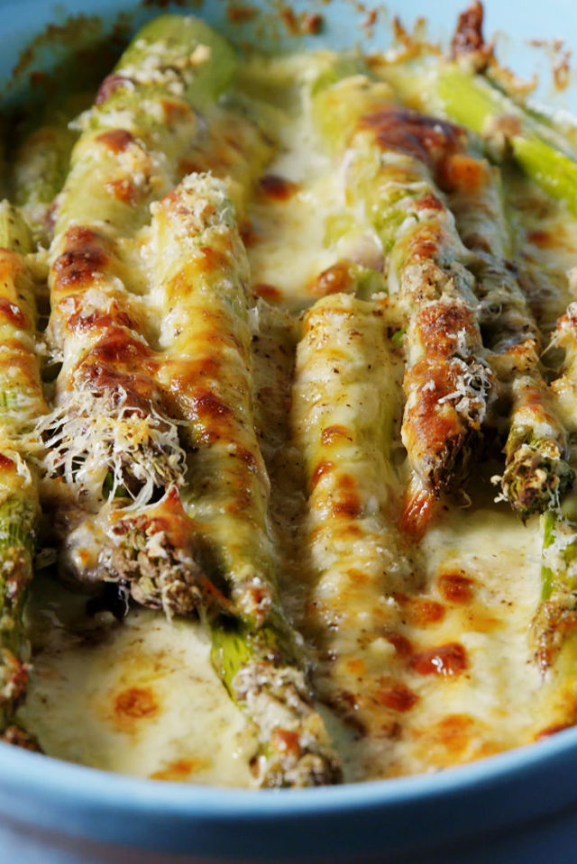 how to make baked asparagus