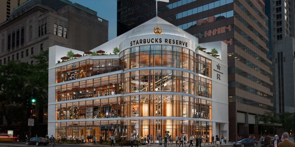 Starbucks Announces A New Reserve Roastery Coming to Chicago's ...