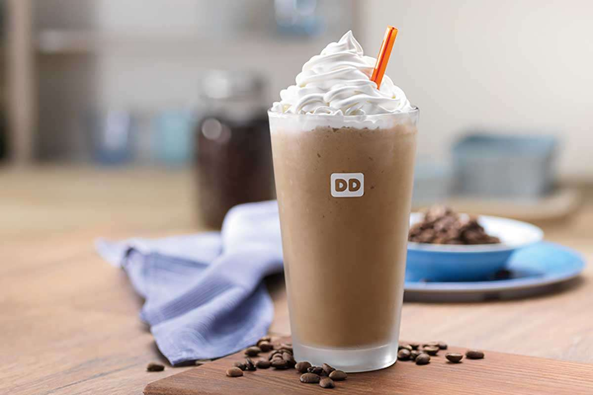 1493677111 dunkin frozen coffee Free Coffee At Dunkin Donuts Today Try Dunkin Donuts New Frozen Coffee For Free Friday