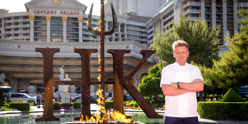 Gordon Ramsay to Open a Hells Kitchen Restaurant at Caesars