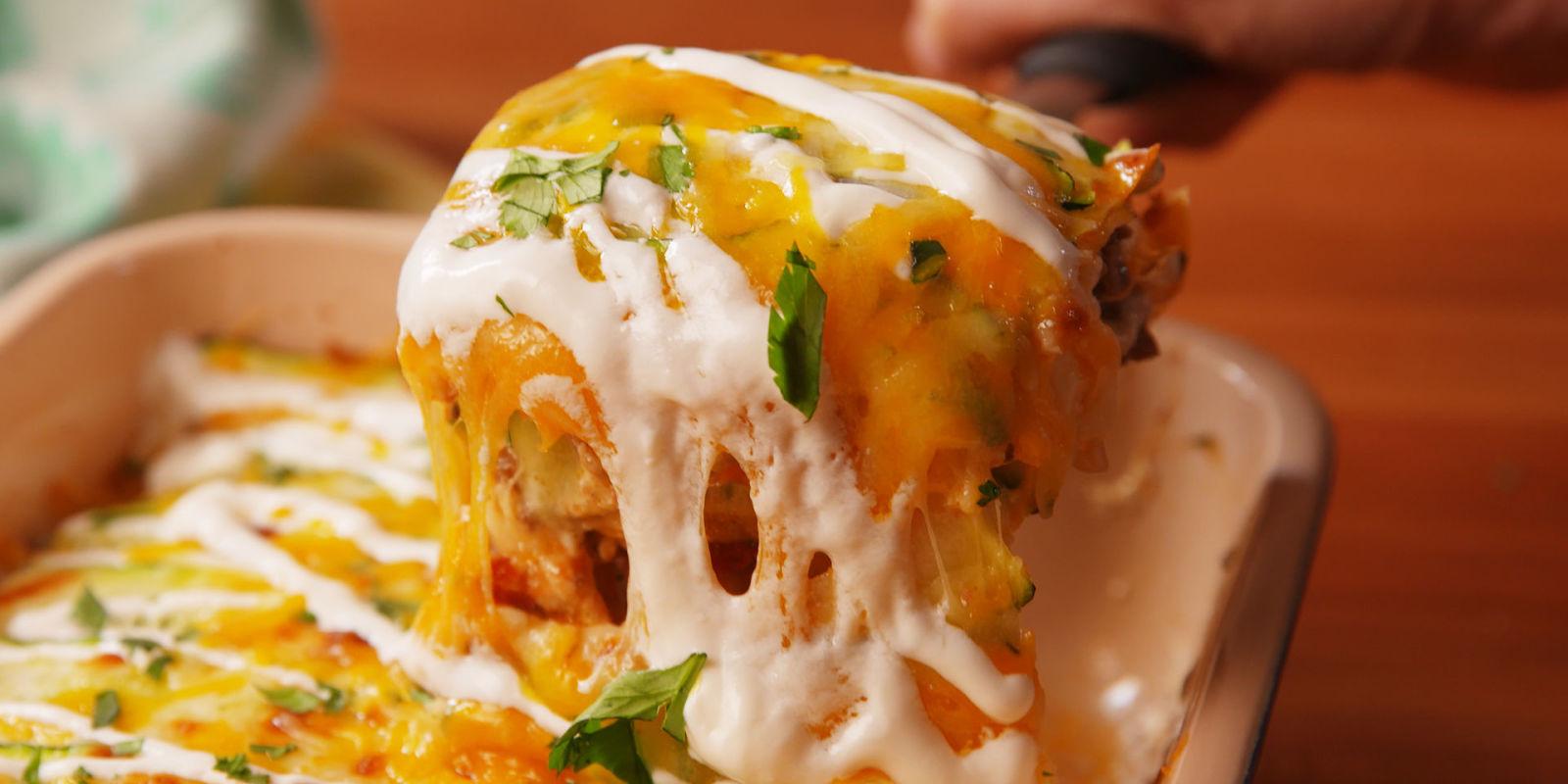 Lindsay Funston Best Taco Zucchini Lasagna Recipe How To Make Taco