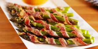 Bacon Asparagus Dippers Horizontal
