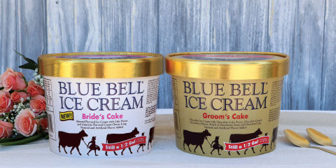 Blue Bell Introduces New Wedding Cake Inspired Ice Cream
