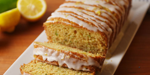 Lemon Zucchini Bread Horizontal