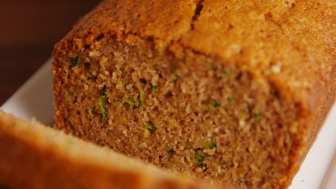 Zucchini Bread Horizontal