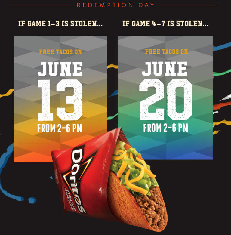 How To Score Free Taco Bell In June