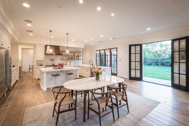 you have to see lauren conrad's incredible kitchen - inside lauren