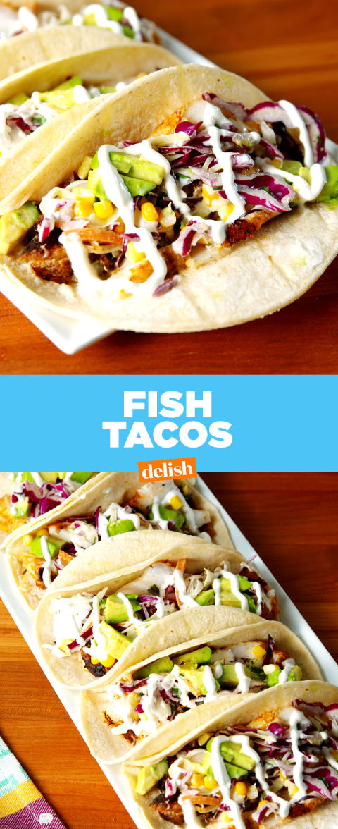 Easy fish taco recipe how to make the best fish tacos for Taco bell fish tacos