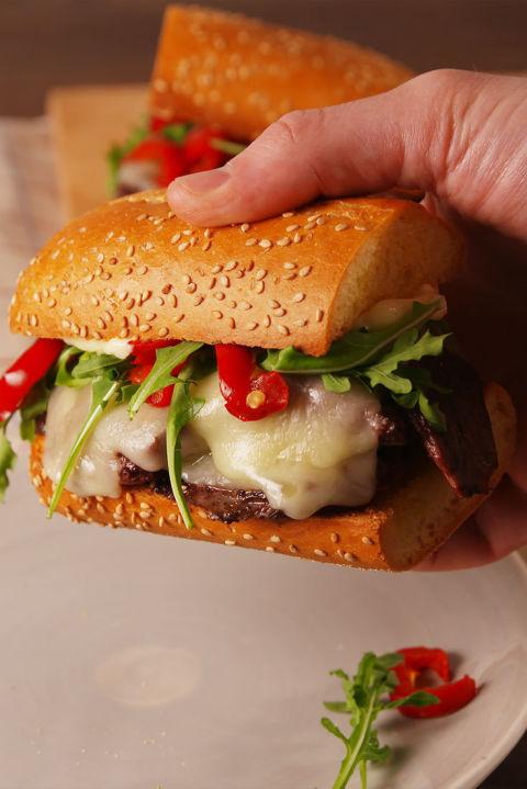 Steak Sandwich Krups Vertical