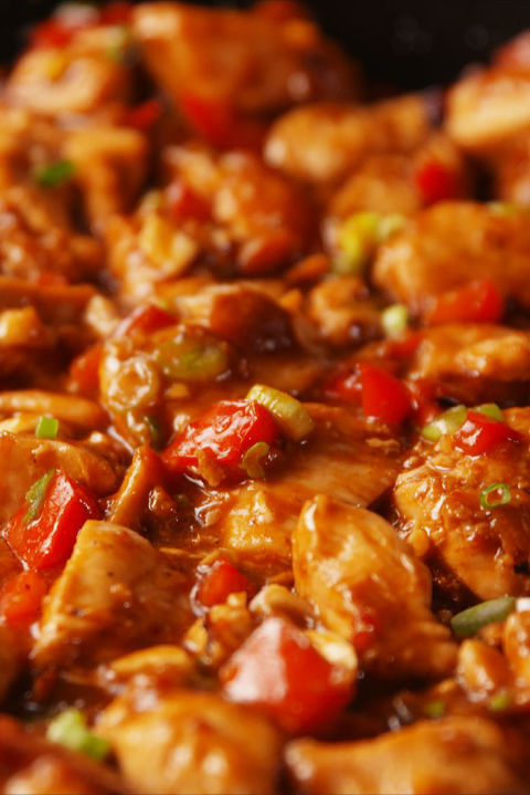 Kung Pao Chicken Vertical