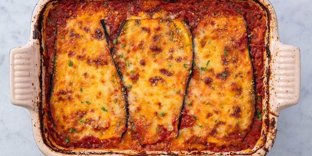 Easy Eggplant Lasagna How To Make Vegetarian Eggplant