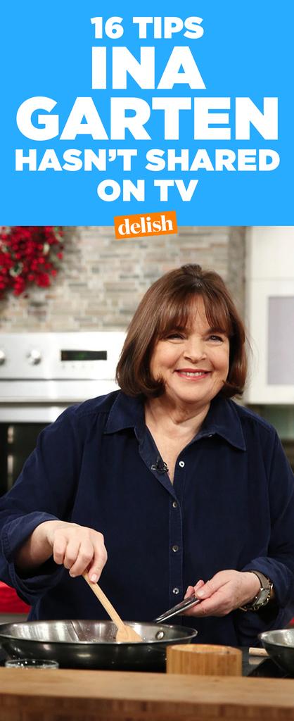 Kitchen tips ina garten hasn 39 t shared on tv ina garten tips - Ina garten tv show ...