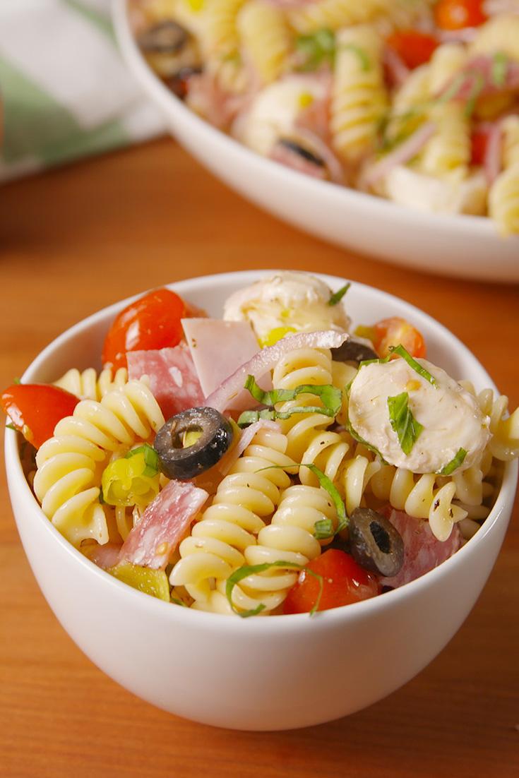 30 Easy Pasta Salad Recipes Best Ideas For Pasta Salads Delish Com