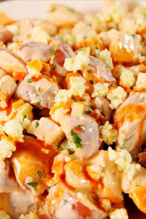 Buffalo Chicken Potato Salad Vertical