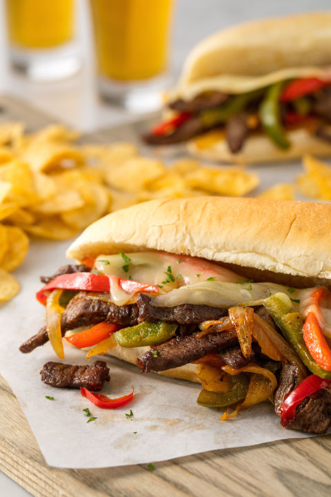 how to make philly cheese steak sandwich recipe