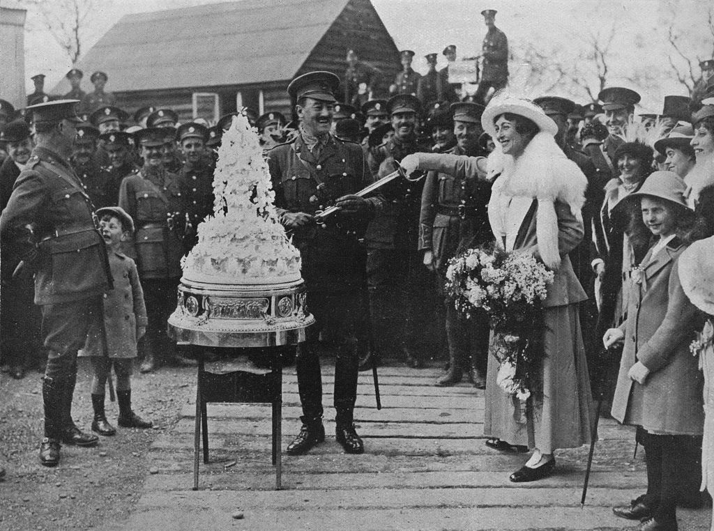 How Wedding Cakes Have Changed Over 100 Years - 100 Years ...