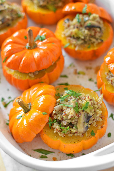 These make the cutest holiday side dish. Get the recipe from Simple Seasonal.