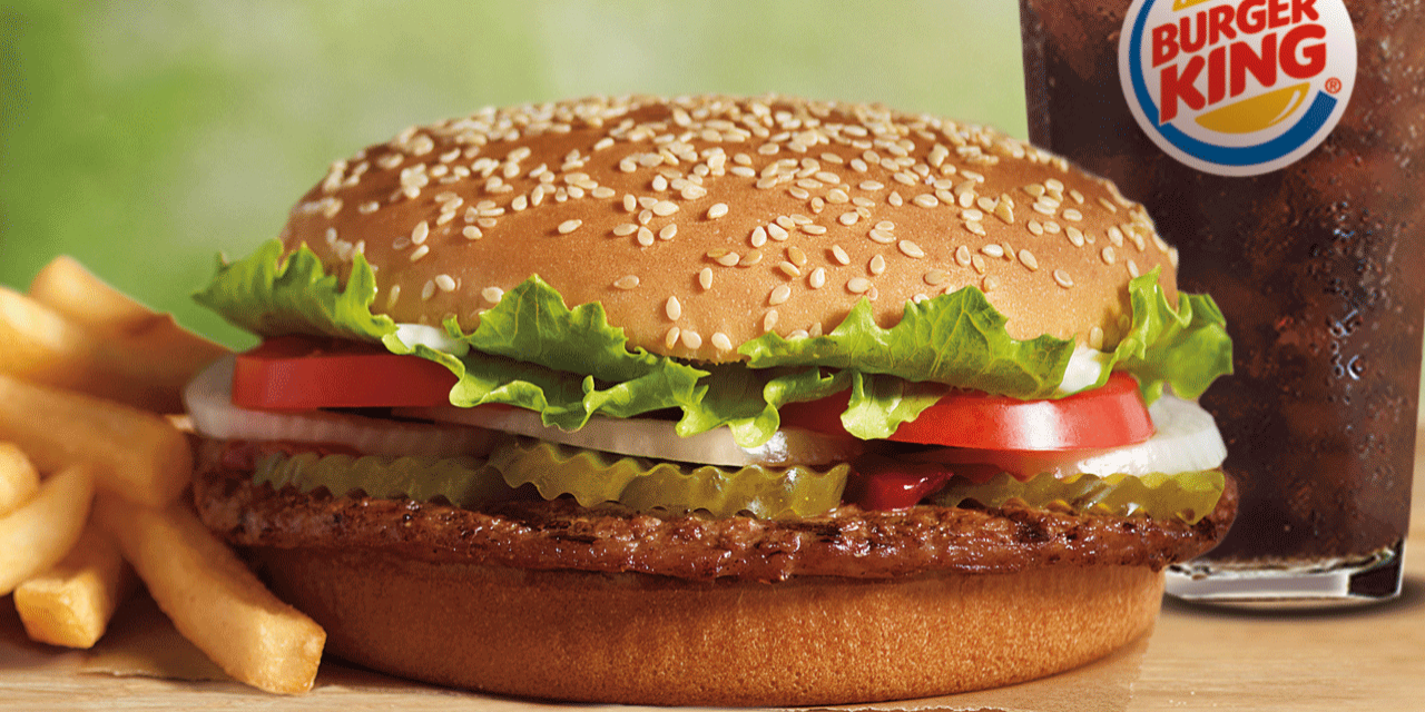 burger king is giving away free whoppers for the strangest