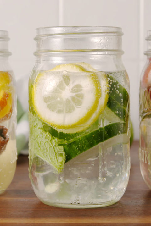 Water is so much more fun with flavor! Get the recipe from TheNextTycoon. CLASSIC MASON JARS: Ball Brand Pint Jars, $19; .