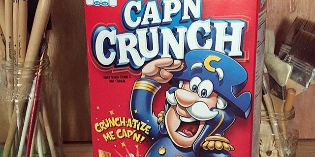 everything we know is a lie - Captain Crunch Halloween