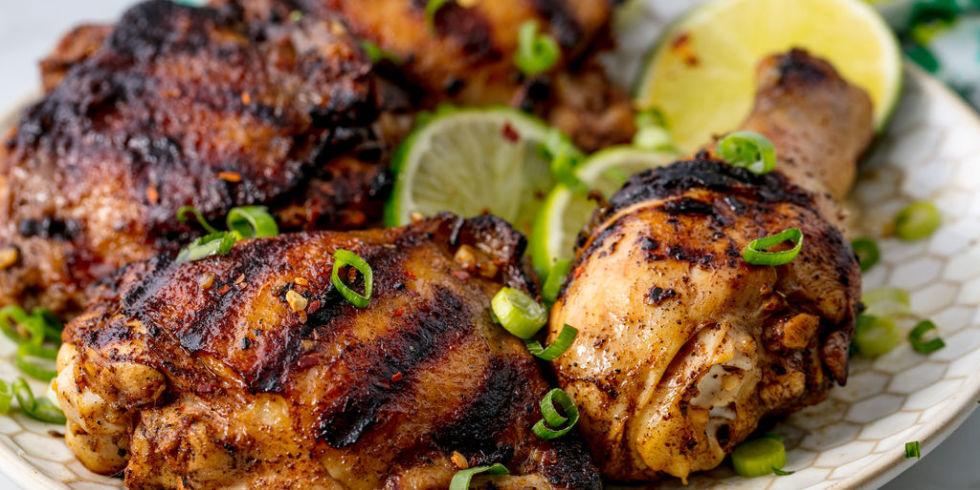 Best jerk chicken recipe how to make authentic caribbean jerk jerk chicken horizontal forumfinder Image collections