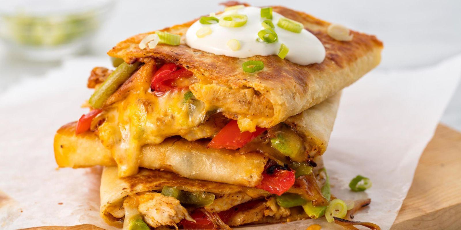 Easy Chicken Quesadilla Recipe - How to Make Best Chicken ...