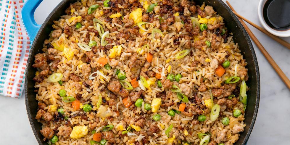 Easy pork fried rice recipe how to make pork fried rice pork fried rice ccuart Gallery